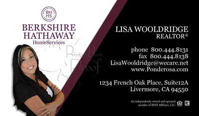 Berkshire hathaway home services business cards 1000 business berkshire hathaway home services business cards 1000 business cards 6999 designed and delivered no additional fees apply free templates and setup reheart Image collections
